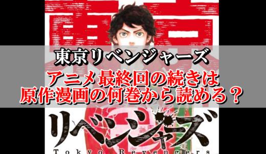 【東京リベンジャーズ】アニメ最終回の続きは原作漫画の何巻から読める?